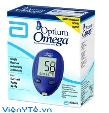 may do duong huyet optium omega1