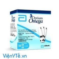 que thu duong huyet optium omega